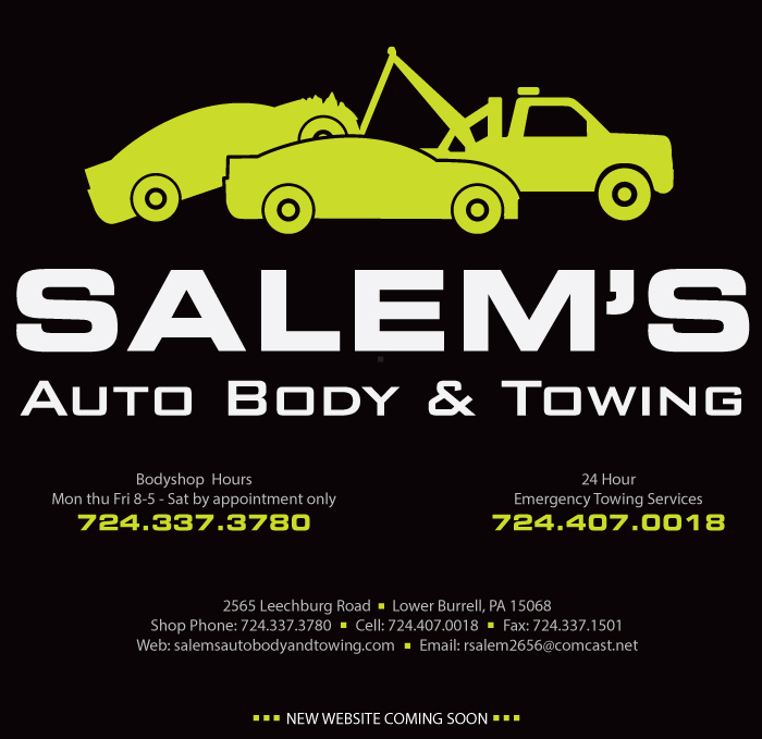 Salems Auto Body and Towing